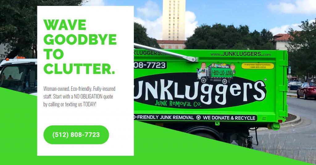 junkluggers of austin web work